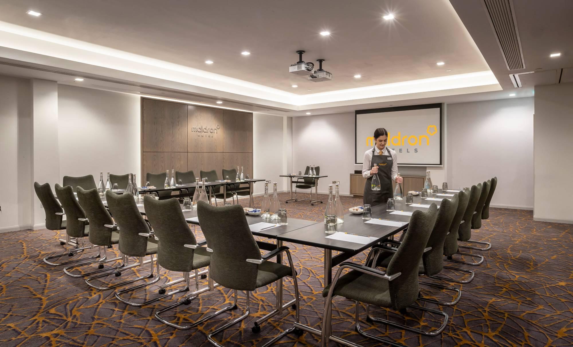Maldron Hotel meeting room u-shape setup